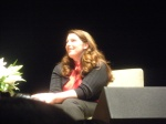 Stephenie Meyer at The Breaking Dawn tour in Seattle