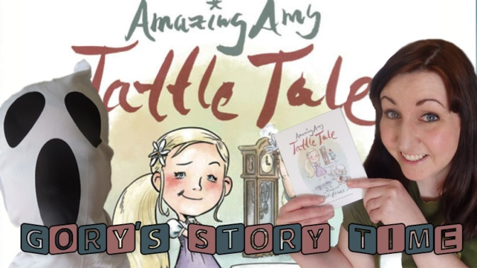 New Story Time Video! Reading Amazing Amy Tattle Tale