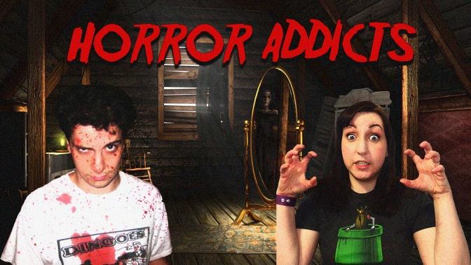 Check out my new YouTube channel Horror Addicts