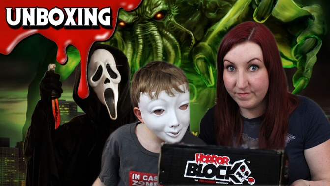 Cthulhu Awakens in this Horror Block Unboxing (June 2015)