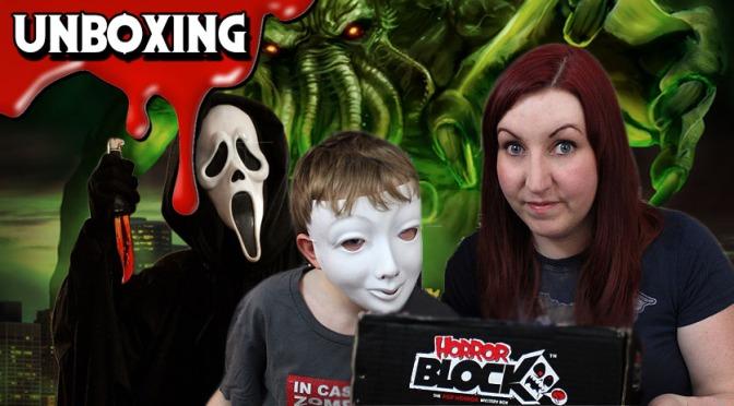 Cthulhu Awakens in this Horror Block Unboxing (June 2015)