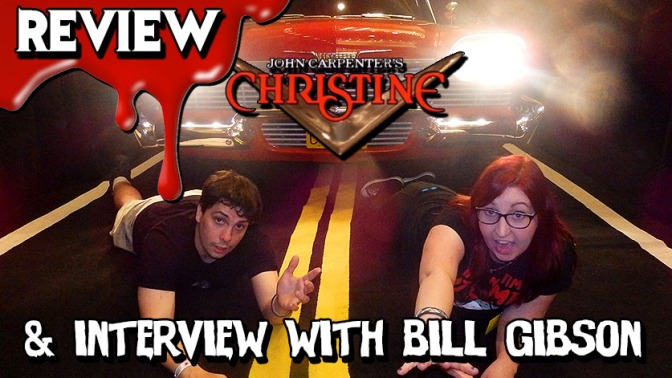 CHRISTINE: Movie vs Book Review & Interview with Owner Bill Gibson