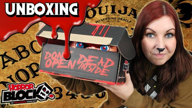 I LOVE CHUCKY! | Horror Block Unboxing (October 2015)