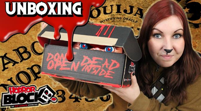 I LOVE CHUCKY!   Horror Block Unboxing (October 2015)