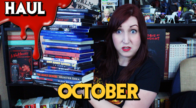 Book & Movie HAUL| Digital HD Giveaway (October)