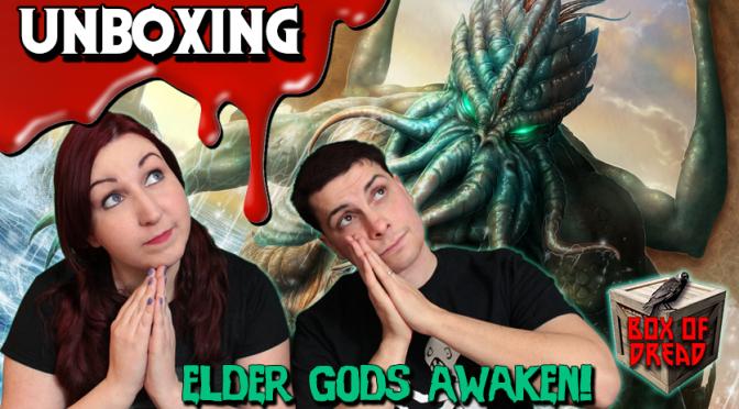 ELDER GODS AWAKEN! | Box of Dread Horror Unboxing (November 2015)