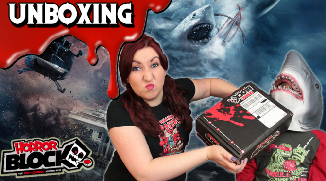 SHARKNADO & TWILIGHT ZONE! | Horror Block Unboxing (November 2015)