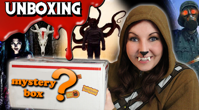 Mystery Box Unboxing from Horror Author Brian Moreland!