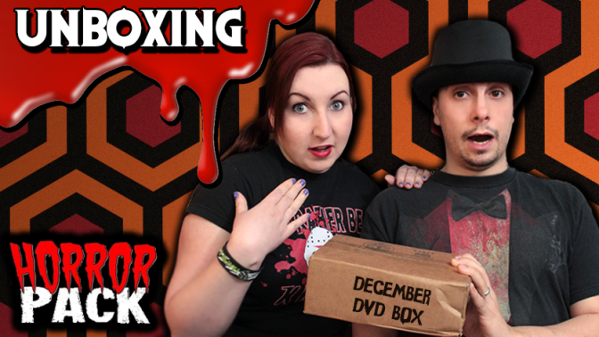 HORROR PACK | DVD Unboxing (December 2015)