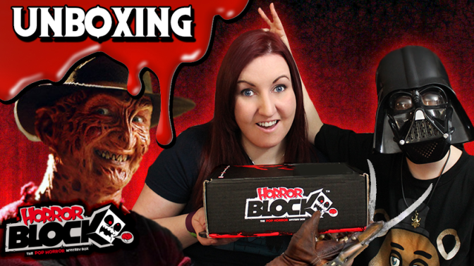HORROR BLOCK Unboxing (December 2015) – Horror Addicts